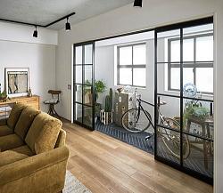 広いお部屋におすすめ。空間をゆる~く仕切ることが出来ます。