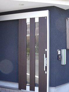 引き戸の玄関ドア