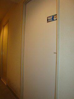 室内ドアの修理