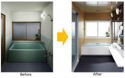 浴室用リフォーム窓